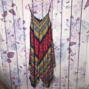 [MLLE GABRIELLE] AZTEC BOHO MAXI DRESS 3X #412